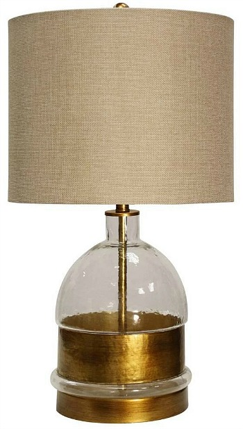 Midfield Table Lamp Clear