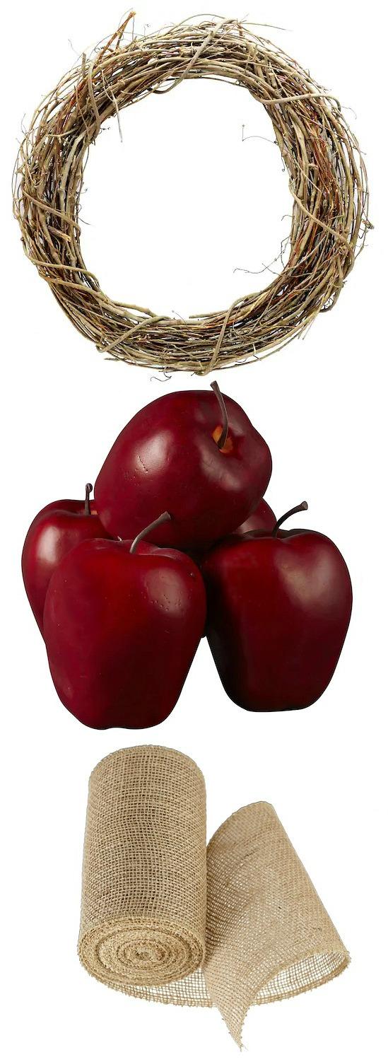 apple-wreath-supplies