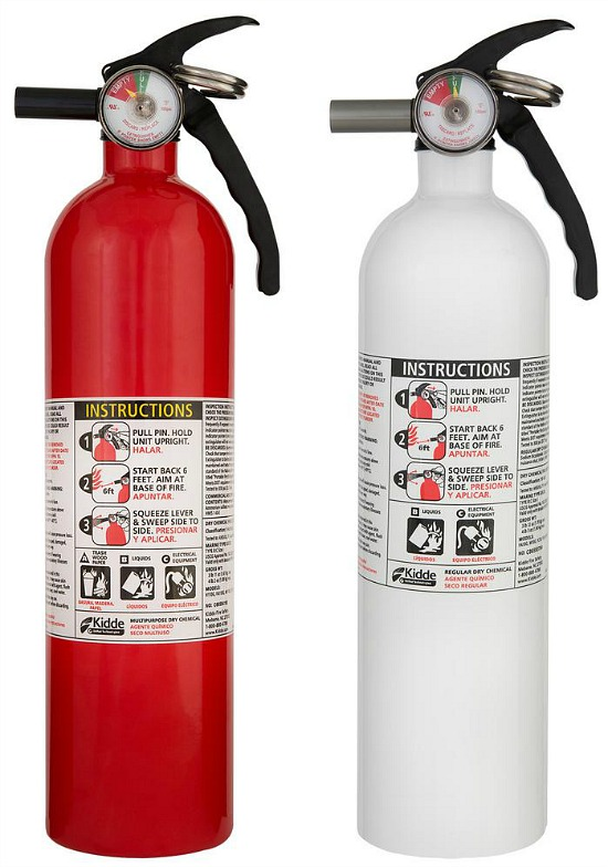 1-A:10-B:C Recreation and 10-BC Kitchen Fire Extinguisher (2-Pack)