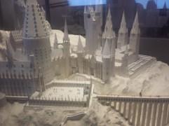 White Card Model of Hogwarts