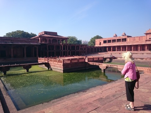 Anoop Talao pool, Fatehpur Sikri