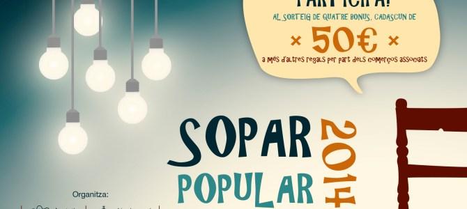 Sopar Popular 2014 – El Llombo