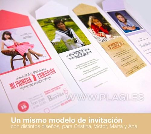 Diseños Invitaciones Comuniones