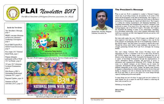 PLAI Newsletter 2017