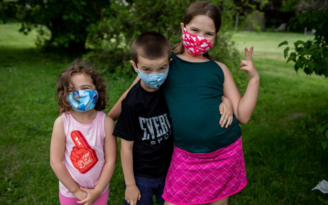 Young Kids and Masks
