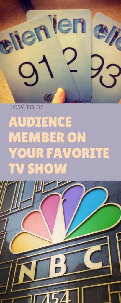 How to be an Audience Member on your Favorite TV Show. Click to read how I've been an audience member for 7 shows and have even appeared on TV as an audience member!