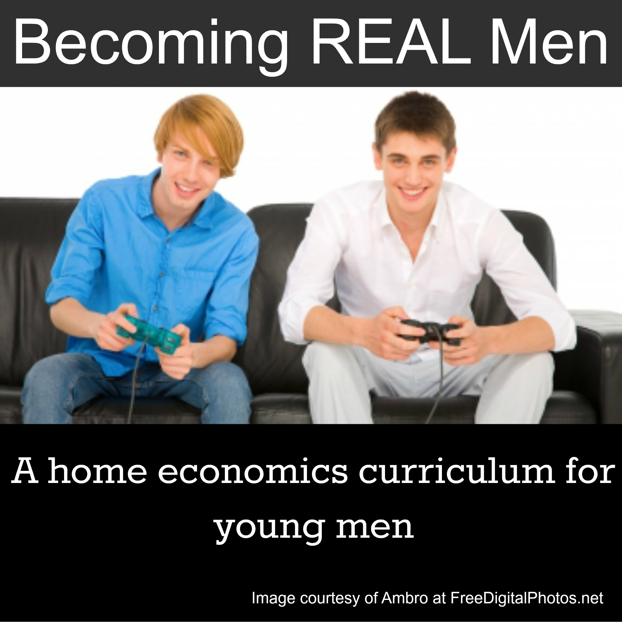 New Home Economics Course For Guys