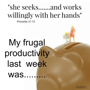frugal productivity series
