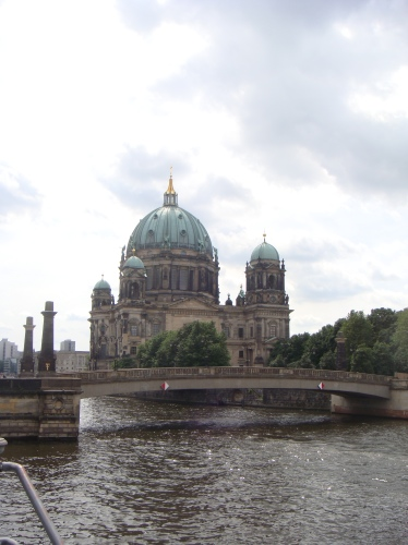 In the distance: Berliner Dome