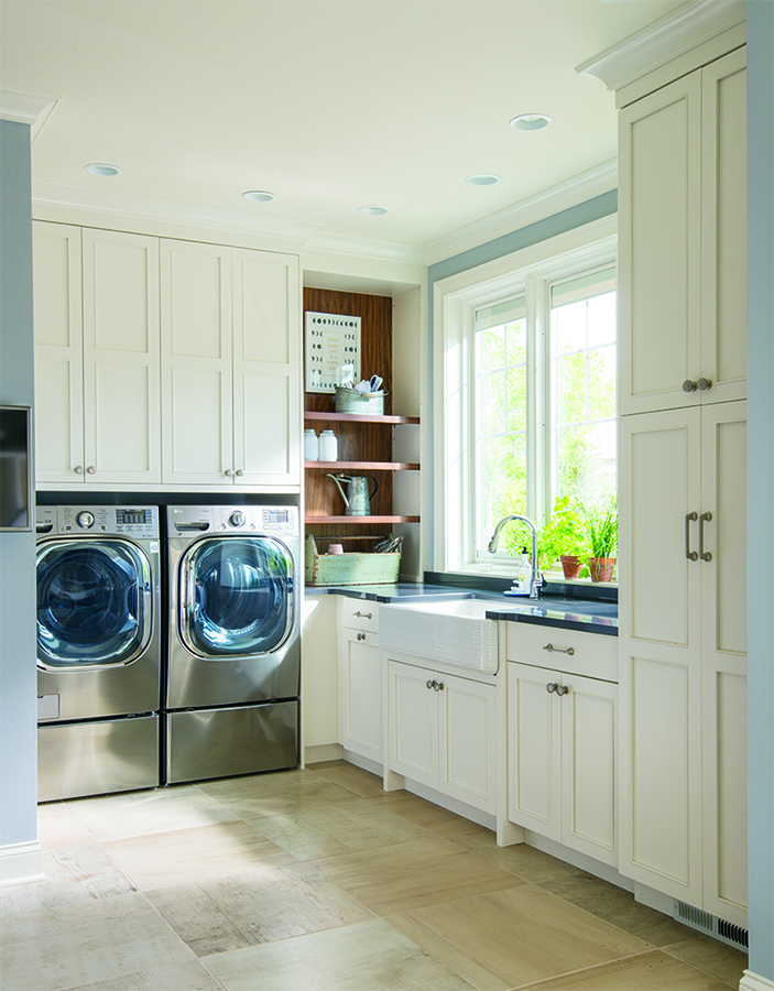 Get more Space Out of Your Laundry Room And Other Small ... on Laundry Room Cabinets  id=43764