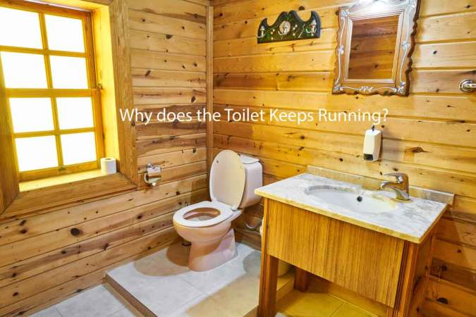 Why does the toilet keep running