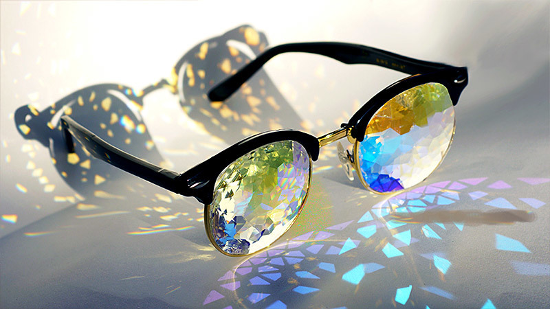 See The World Through These Trippy Kaleidoscope Glasses