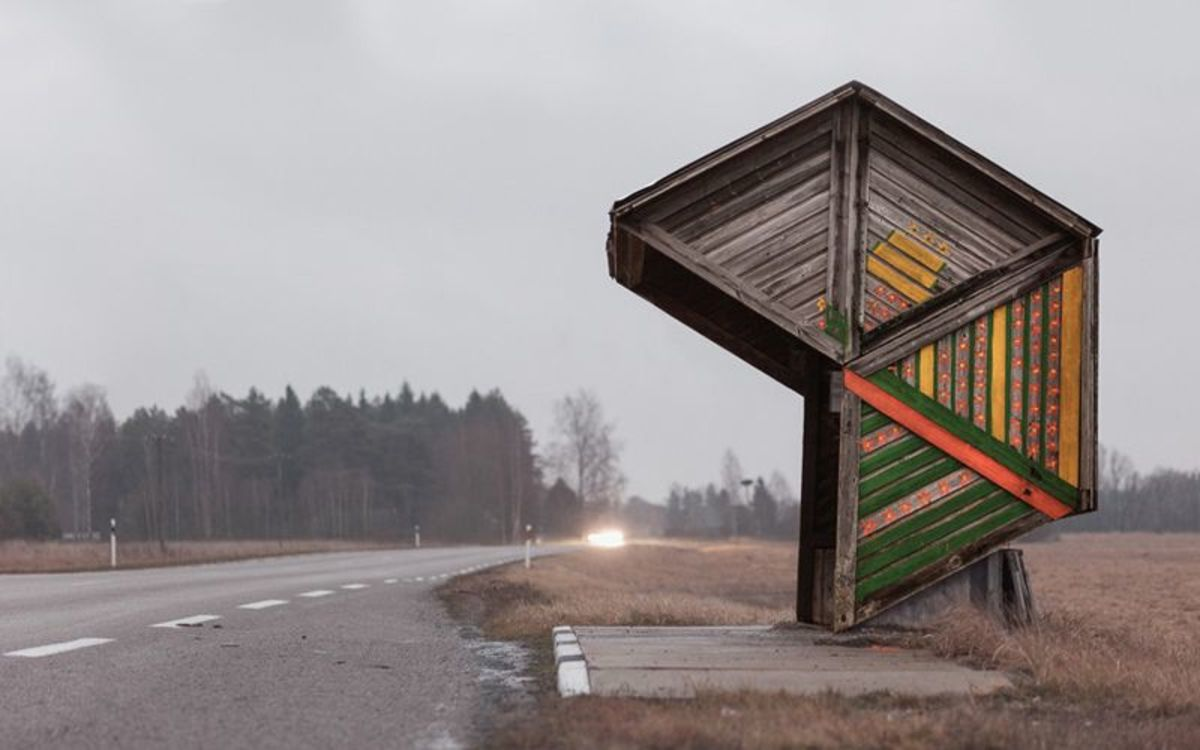 A tour of spectacular Soviet era bus stops