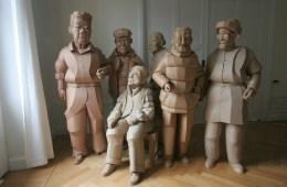 Warren King sculpture China
