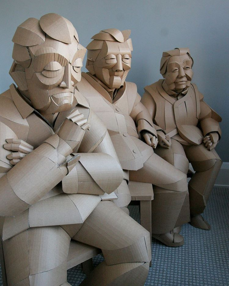 Warren King sculpture China