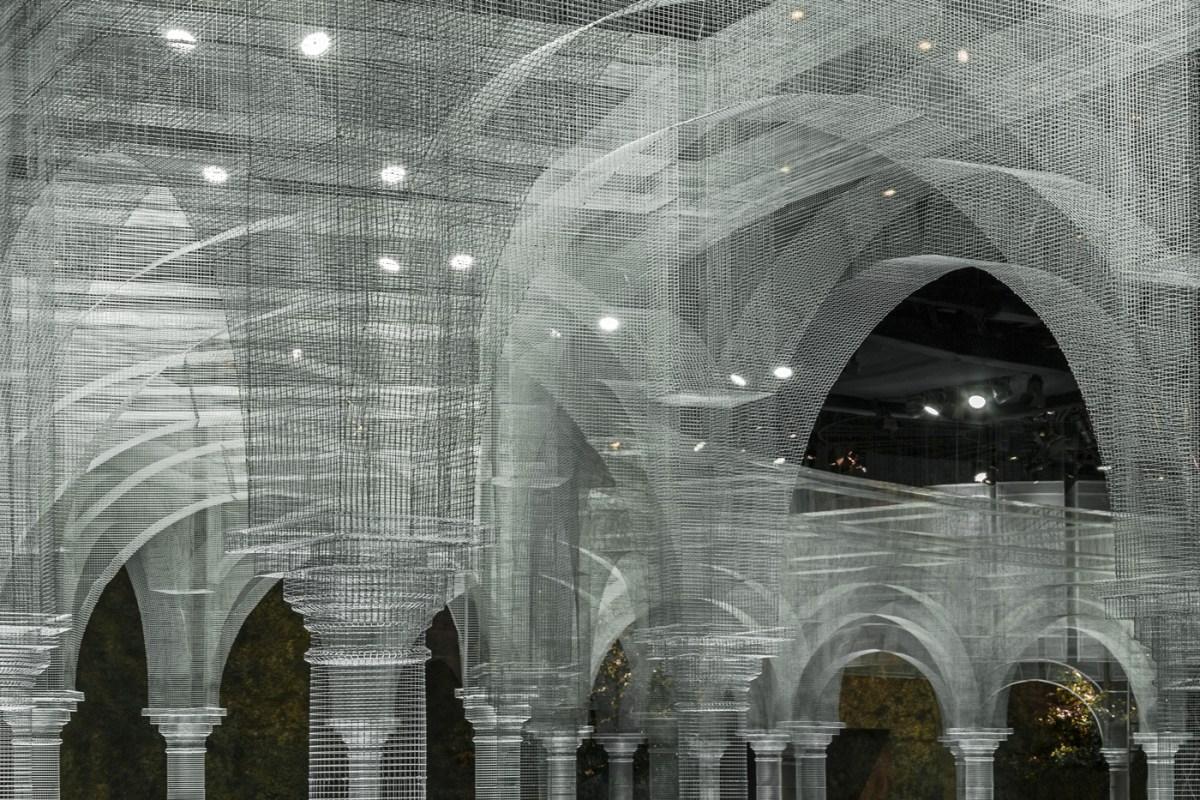 Edoardo Tresoldi Architecture Wire Mesh