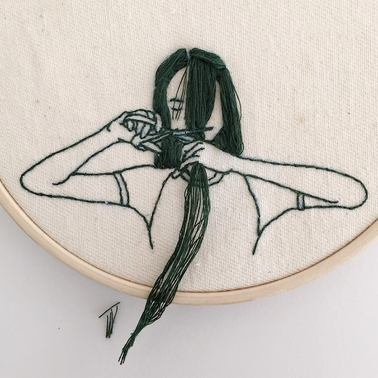 Sheena Liam Embroidery Art