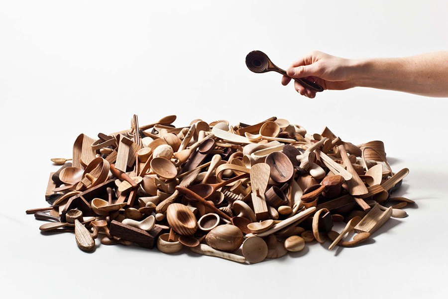 Stian Korntved Ruud Daily Spoon Project Art