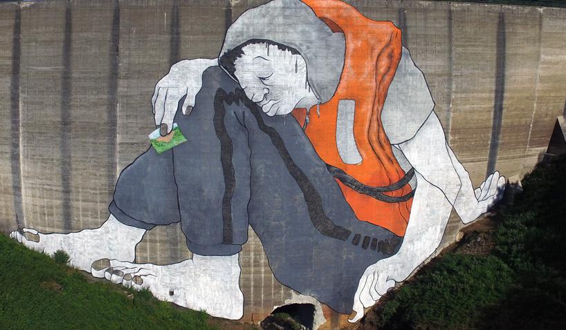 Ella and Pitr Street Art