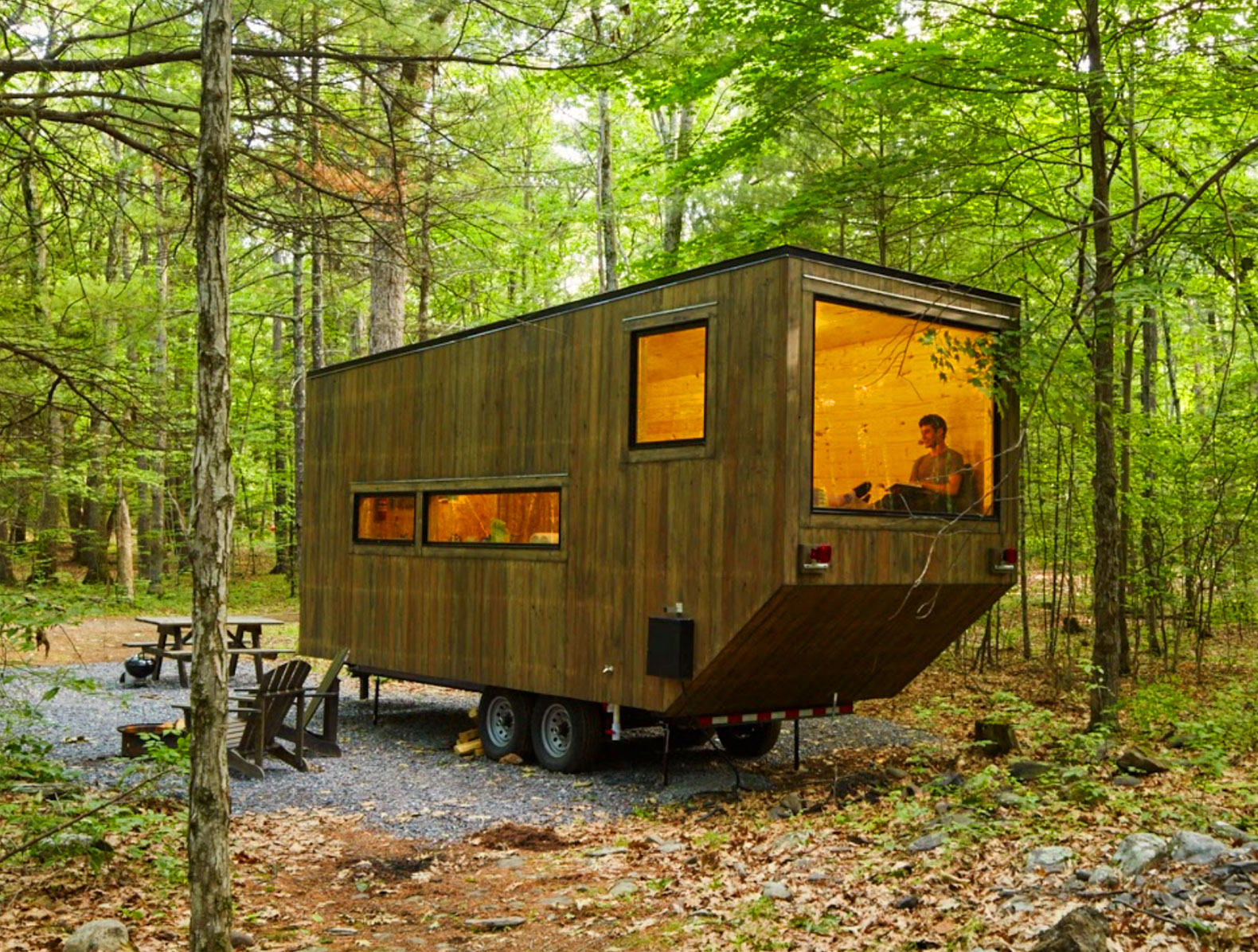 6 Tiny Cabins You Can Rent To Get Away From It All Plain