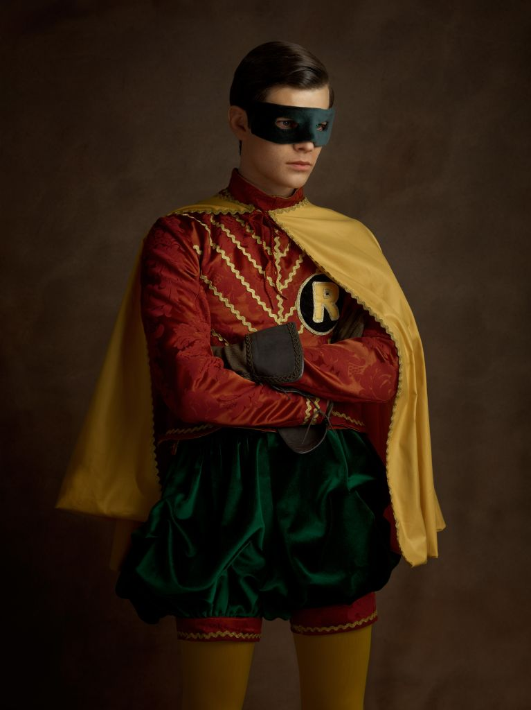 Sacha Goldberger Super Flemish Art Superheroes