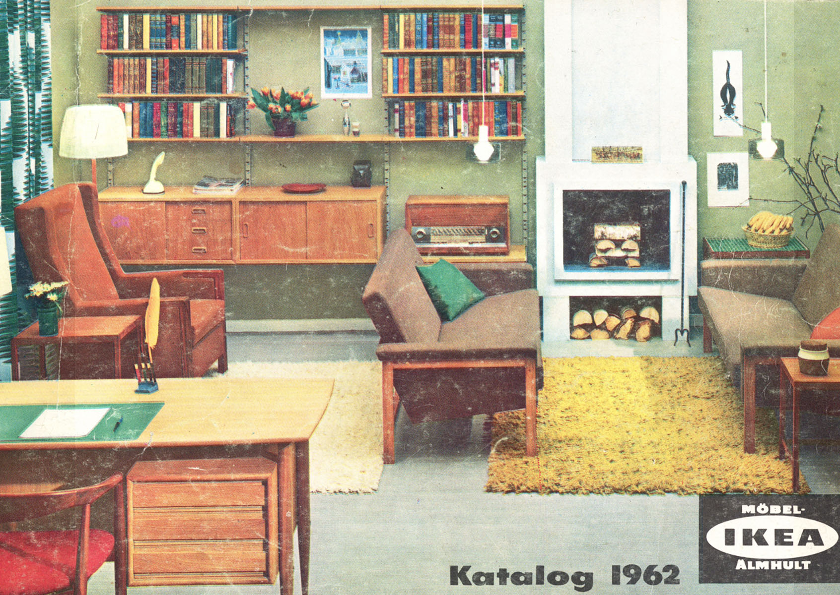 Fifty Years of Ikea Catalogues Show the Evolution of the