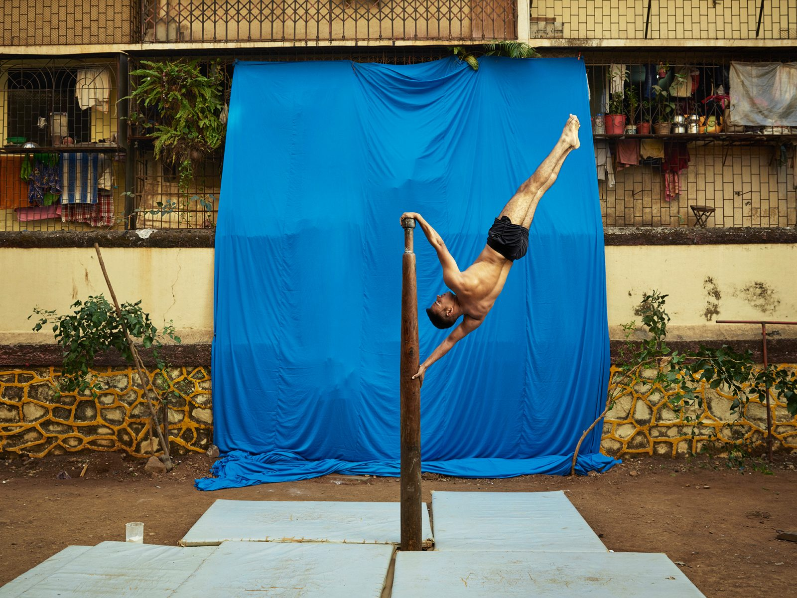 Gem Fletcher and Ken Hermann Document India's Body-Bending Sport Mallakhamba - PLAIN Magazine