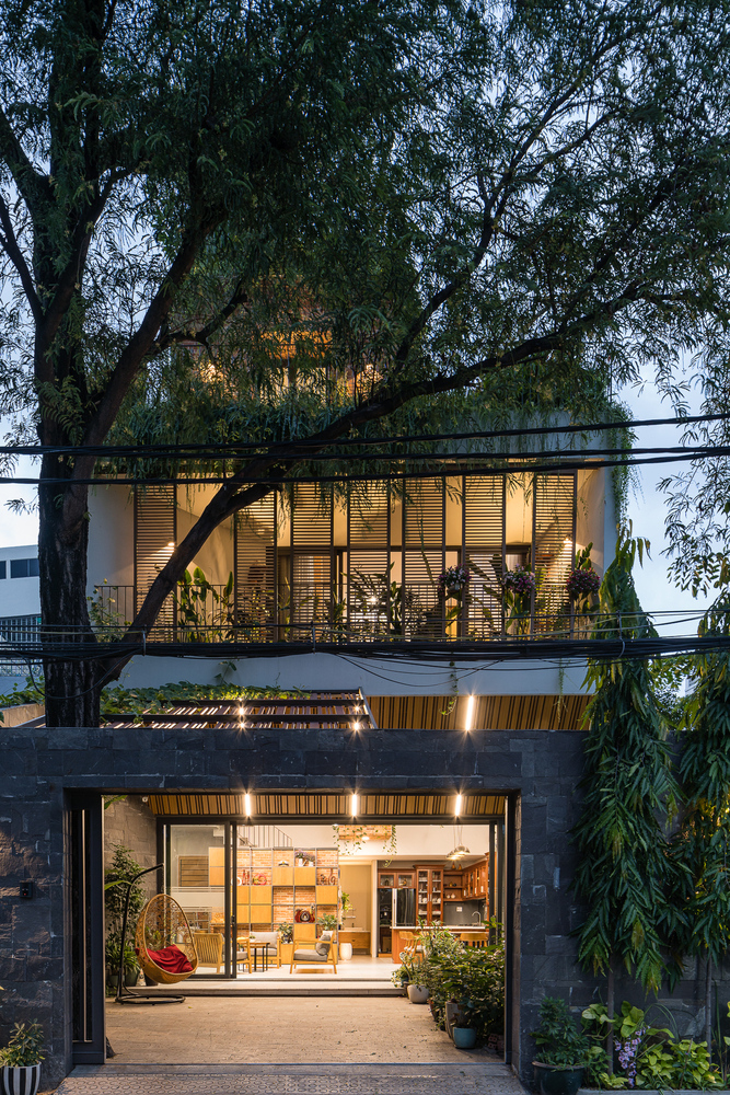 MDA Architecture Roof Park House