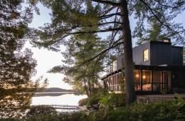 Paul Bernier Architecte Cottage on the Point