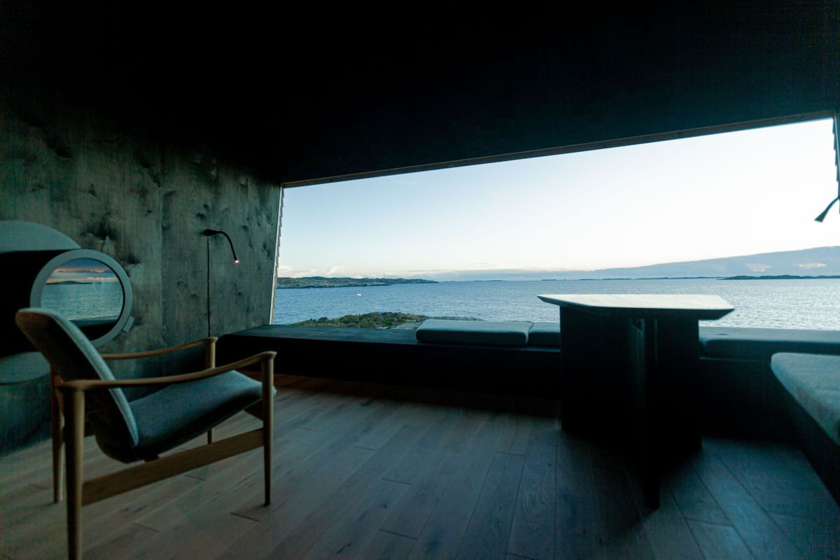 Flokehyttene Cabins Holon Arkitektur