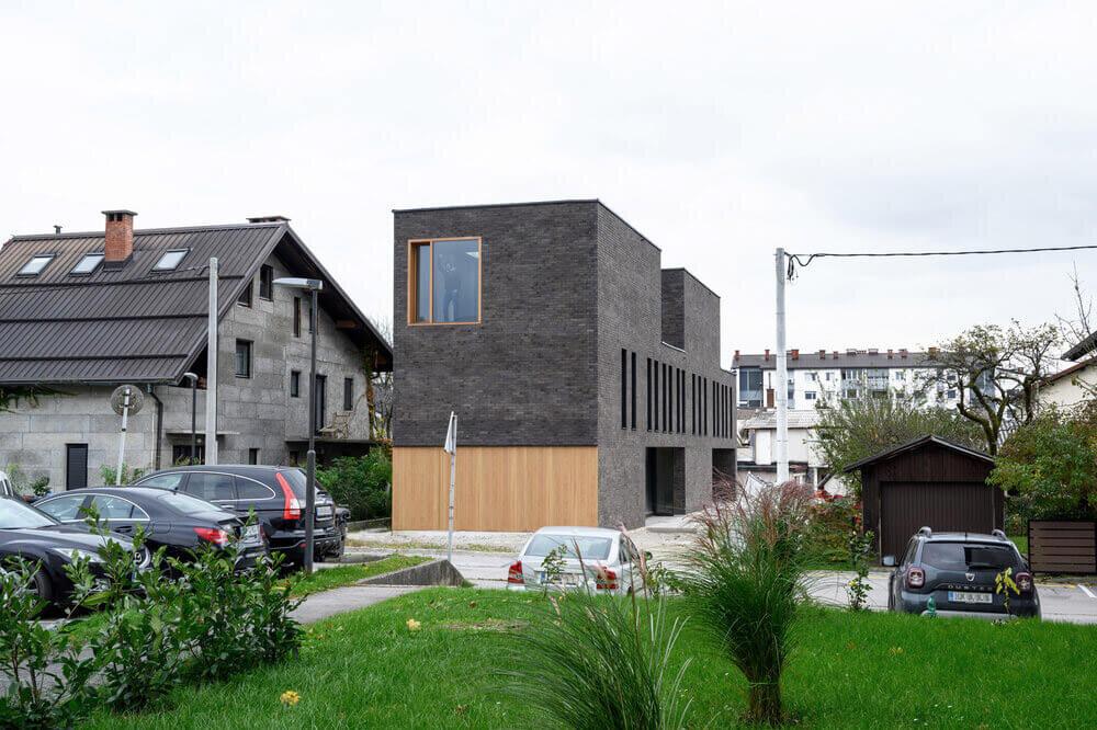 Arhitektura Double Brick House slovenia