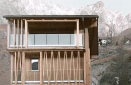 climber's refuge Luca Compri Architetti