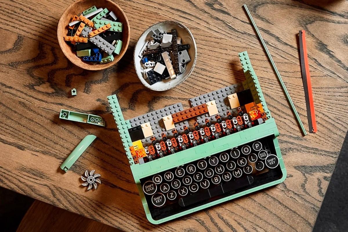 Lego Ideas Typewriter Kit