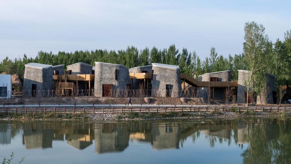 Studio Avoid Grotto Retreat Xiyaotou China