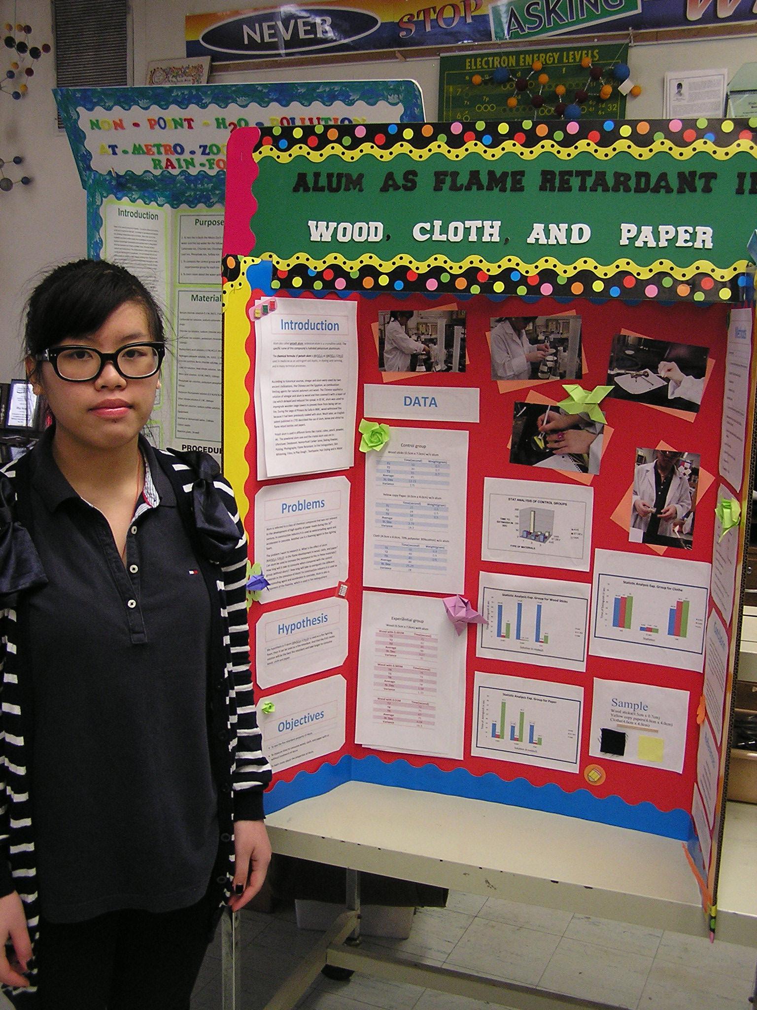 Award Winning High School Science Fair Projects