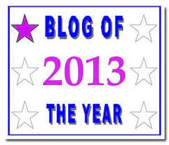 Blog of the Year 2013 Award
