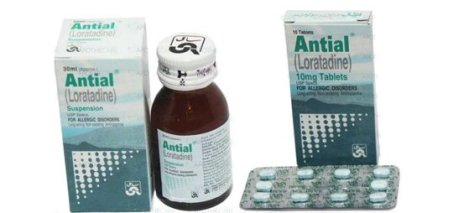 Antial Tablet and Suspension - Loratadine