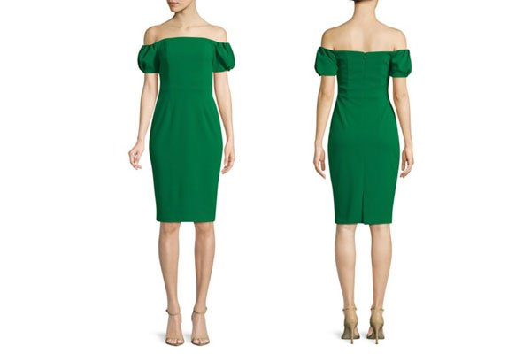 Lord & Taylor : Betsy & Adam Off-The-Shoulder Sheath Dress