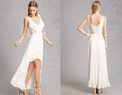 High-Low, White Dresses For Women at Forever 21