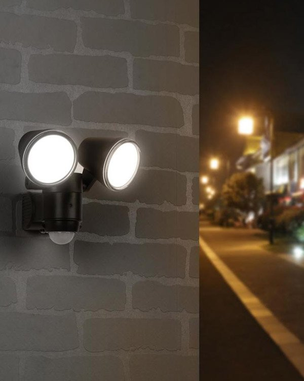 Home Depot Motion Sensor LED Security Flood Lights
