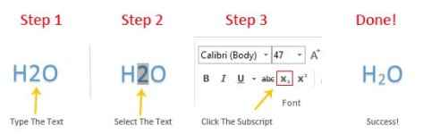How To Insert Subscript In Microsoft Word