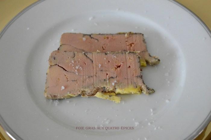 foie gras maison au quatre epices