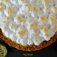 Key Lime Pie {Bataille Food #31}