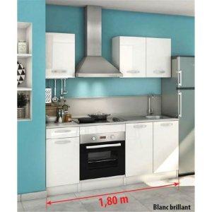 cuisine équipée Délice 180cm blanc