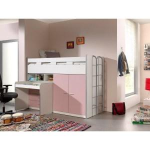 BONNY 70 LIT COMPACT ROSE CLAIR - SOMMIER COMPRIS