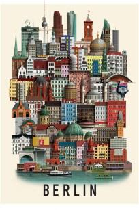 Berlin Plakat Martin Schwartz