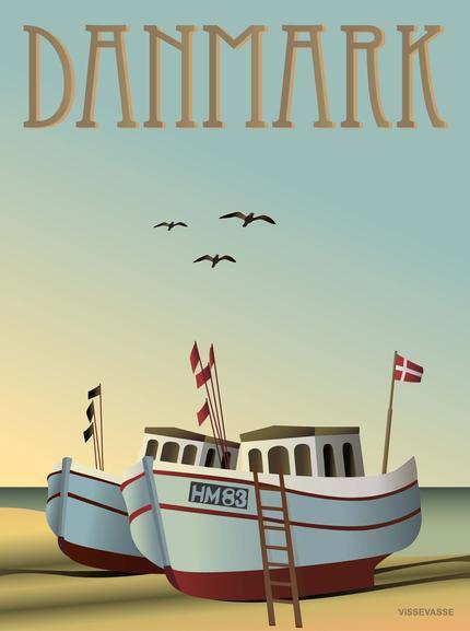 Danmark Fiskebaade - vissevasse