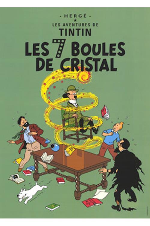De syv krystalkugler - Tintin