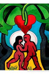 Henry Heerup - Elskende par i hjerteskoven