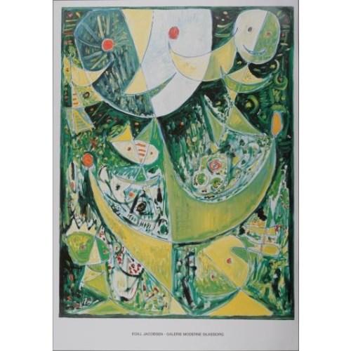 Egill Jacobsen grøn